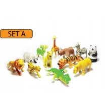 MODEL OF WILD ANIMALS (SET A)