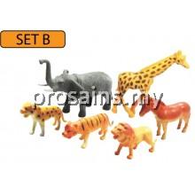 MODEL OF WILD ANIMALS (SET B)