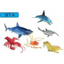 MODEL OF SEA ANIMALS (SET A)