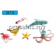 MODEL OF SEA ANIMALS (SET B)