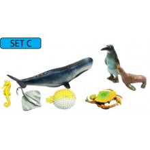 MODEL OF SEA ANIMAL (SET C)