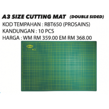 A3 SIZE CUTTING MAT (DOUBLE SIDE)