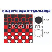 PESPS852 GIGANTIC DAM HITAM / MERAH