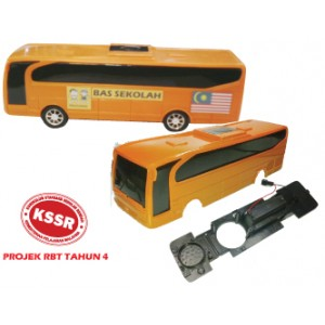 RBT310 (Prosains) PROJEK RBT TAHUN 4 BAS SEKOLAH PLASTIK (12 PCS)