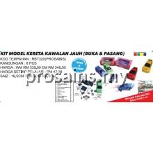 RBT320 (Prosains) KIT MODEL KERETA KAWALAN JAUH (BUKA DAN PASANG) (8 PCS)