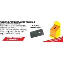 RBT421 (Prosains) TABUNG PENGGERA RBT TAHUN 5 (40 PCS)