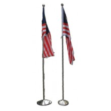 INDOOR / OUTDOOR FLAG POLE (2 PCS / SET)