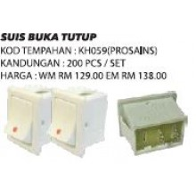 KH059 (Prosains) SUIS BUKA TUTUP (200 PCS)