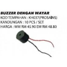 KH037 (Prosains) BUZZER DENGAN WAYAR (10 PCS / SET)