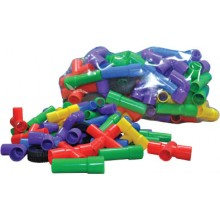 PIPE BUILDER WITH WHEELS (+/- 154 pcs)