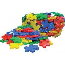LINKING PUZZLE BLOCK (+/- 77 pcs)