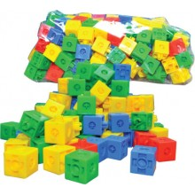 6 SIDED LINKING CUBE (+/- 230 pcs)