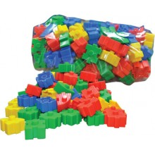 SQUARE ANGLED AND BRICKS (+/- 60 pcs)