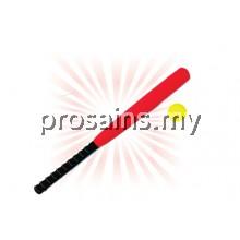EVA FOAM BASEBALL BAT WITH BALL (8 PCS / SET)