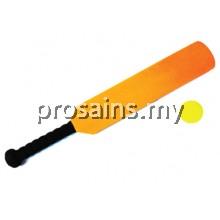 PJK013(ProSains) EVA FOAM CRICKET BAT WITH BALL (4 PCS / SET)