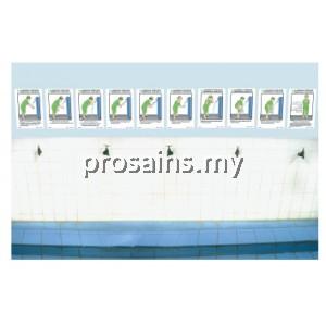 10 LANGKAH PANDUAN BERWUDUK YANG BETUL (LELAKI) (SAIZ A4) (10 PCS / SET)